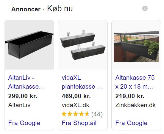Google annonce